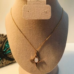"""VINTAGE 1978 SARAH COVENTRY """"MOON BEAM"""" NECKLACE"""